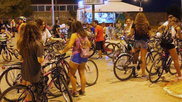 ποδηλατοβολτα στην Αλεξανδρουπολη