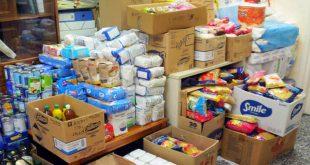 διανομή τροφίμων σε δικαιούχους του ΤΕΒΑ