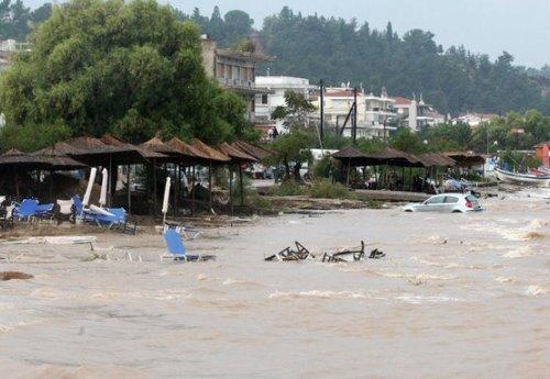 15 εκατ. ευρώ για τους πλημμυροπαθείς στον Δήμο Θερμαϊκού