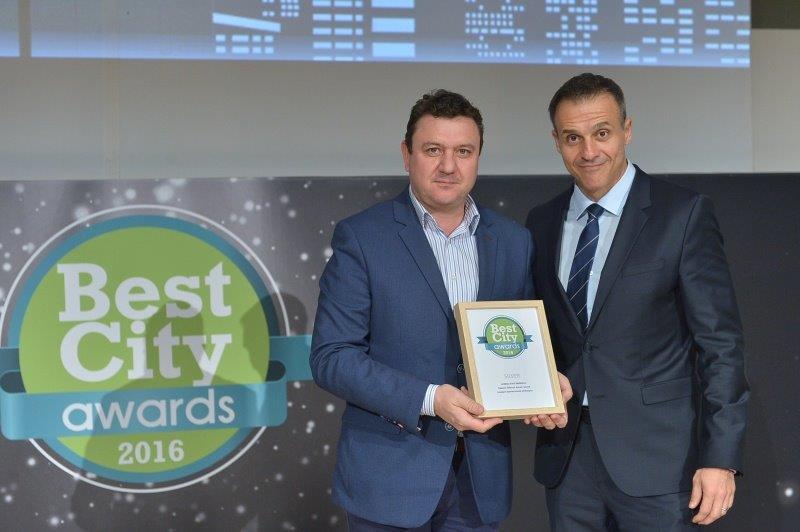 Βραβείο στα Best City Awards 2016