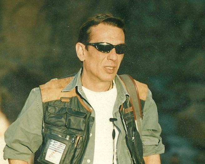 βετεράνος πολεμικός ανταποκριτής Γιώργος Γεωργιάδης