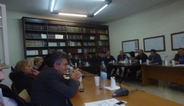 φιλοξενία προσφύγων από το δημοτικό συμβούλιο Μάνδρας Ειδυλλίας