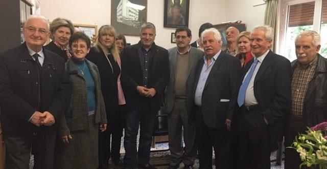 Ο Γιώργος Πατούλης επισκέφθηκε το Άσυλο Ανιάτων Πατρών «Αγία Ευφροσύνη»