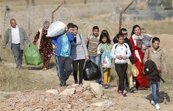 αριθμός των προσφύγων - μεταναστών