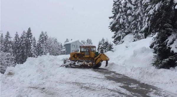 Δήμοι της Θεσσαλίας χιονιας
