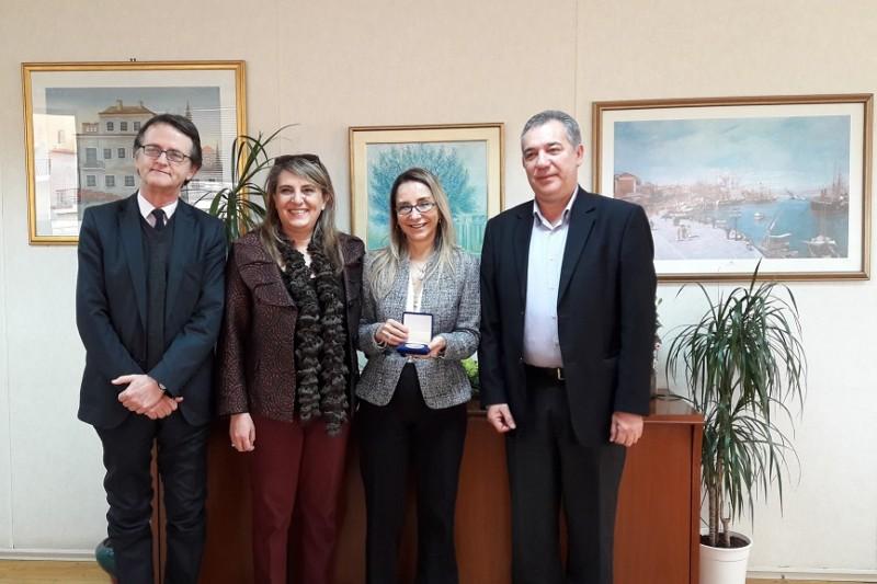 Δημήτρη Μπίρμπα , επισκέφτηκε  η Πρέσβειρα της Χιλής