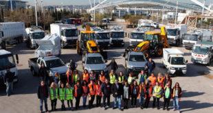 Με υπερσύγχρονα μηχανήματα ενισχύεται η καθαριότητα του Δήμου Αμαρουσίου