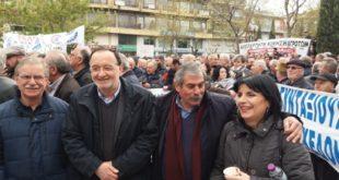συλλαλητήριο στην Πτολεμαΐδα λαφαζανης