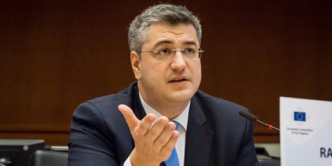 Αντιπρόεδρος της Επιτροπής των Περιφερειών της Ευρωπαϊκής Ένωσης o Απόστολος Τζιτζικώστας