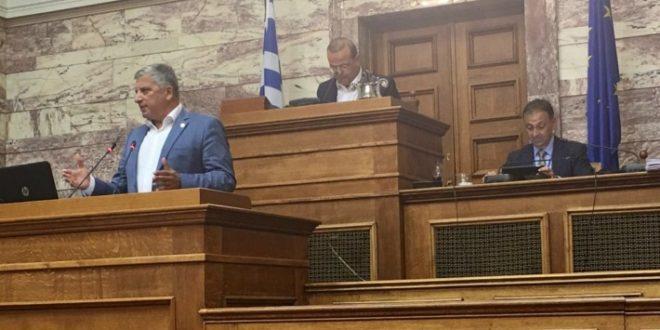Στη Μόνιμη Επιτροπή Ελληνισμού της Διασποράς στη Βουλή ο Πρόεδρος της ΚΕΔΕ