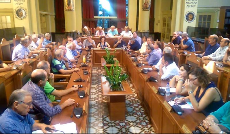 Αποχώρηση των ΜΚΟ δημοτικο συμβουλιο λεσβου