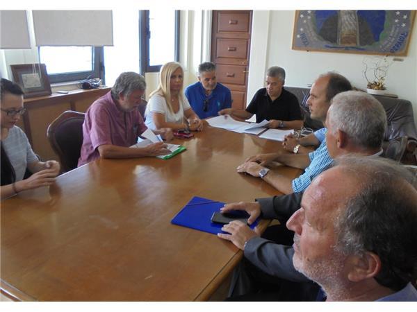 Συμβάσεις για τρία νέα έργα για τη Μαγνησία