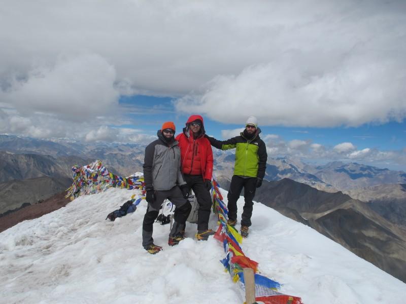 Έλληνες ορειβάτες από τα Ινδικά Ιμαλάια