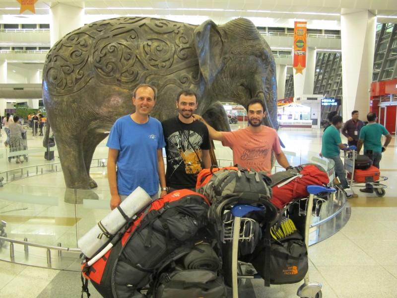 Έλληνες ορειβάτες από τα Ινδικά Ιμαλάια2