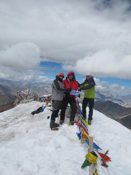 Έλληνες ορειβάτες από τα Ινδικά Ιμαλάια1