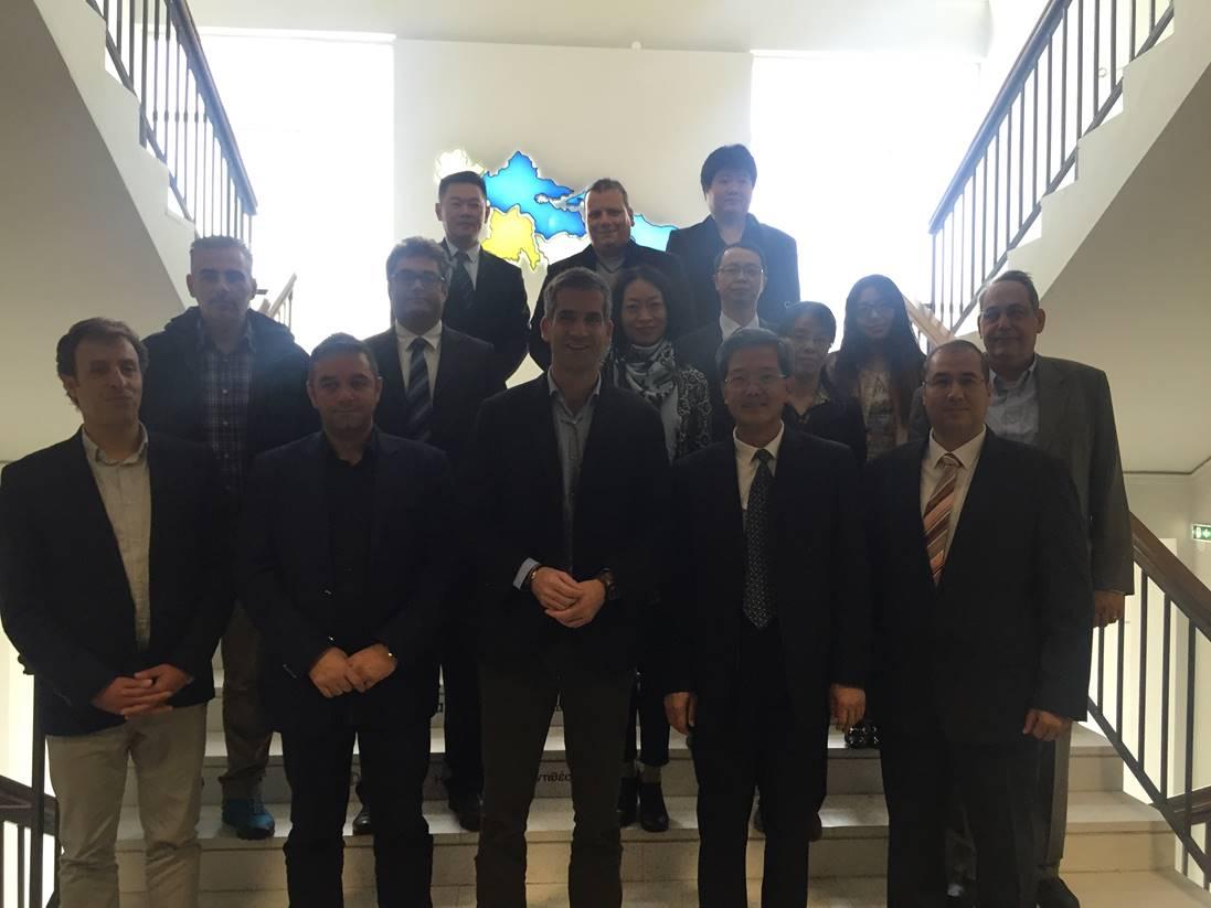 Κινέζοι επιστήμονες στην Περιφέρεια Στερεάς Ελλάδας