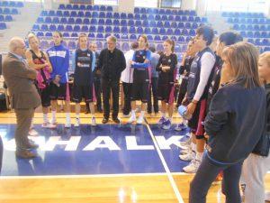 Δήμαρχος Χαλκιδέων για την Εθνική ομάδα μπάσκετ γυναικών