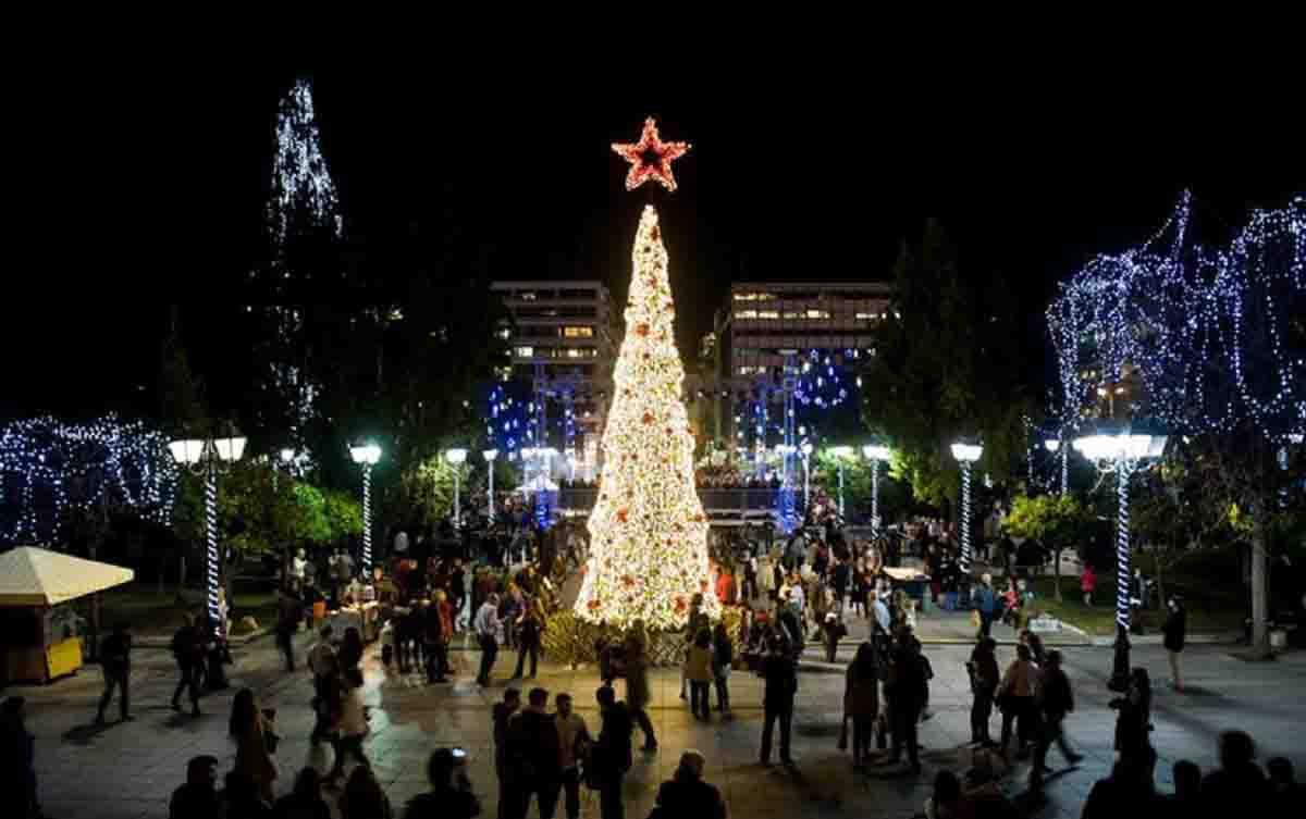 Χριστούγεννα στην Αθήνα