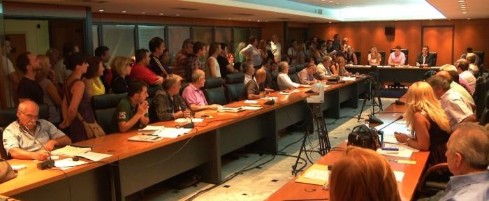 δημοτικο συμβουλιο ιλιου Ψήφισμα καταδίκης φασιστικών επιθέσεων