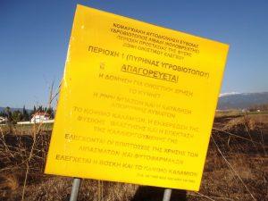 SOS για τον υγρότοπο Κολοβρέχτη στην Εύβοια