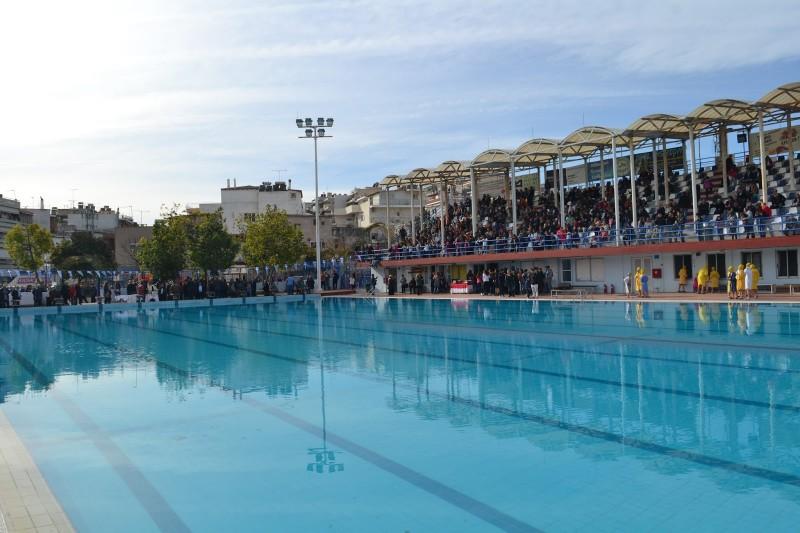 Θεοφάνια 2017 στο δημοτικό κολυμβητήριο Χαϊδαρίου