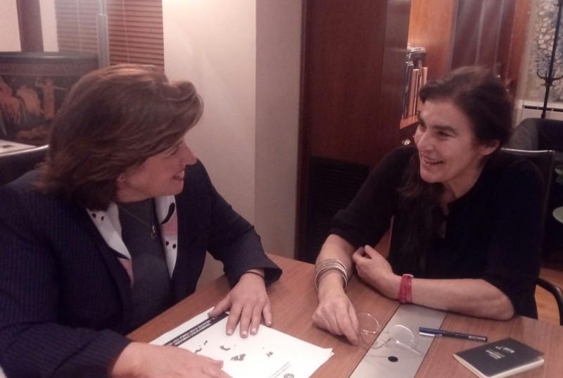 Υπουργό Πολιτισμού συναντήθηκε η Περιφερειάρχης Βορείου Αιγαίου