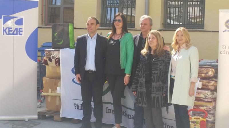 ΚΕΔΕ στο Κέντρο Υποδοχής και Αλληλεγγύης του Δήμου Αθηναίων