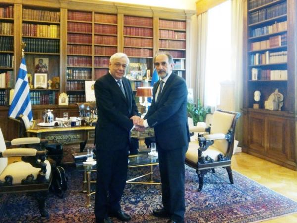 Προεδρικό Μέγαρο, ο Περιφερειάρχης Δυτικής Ελλάδας
